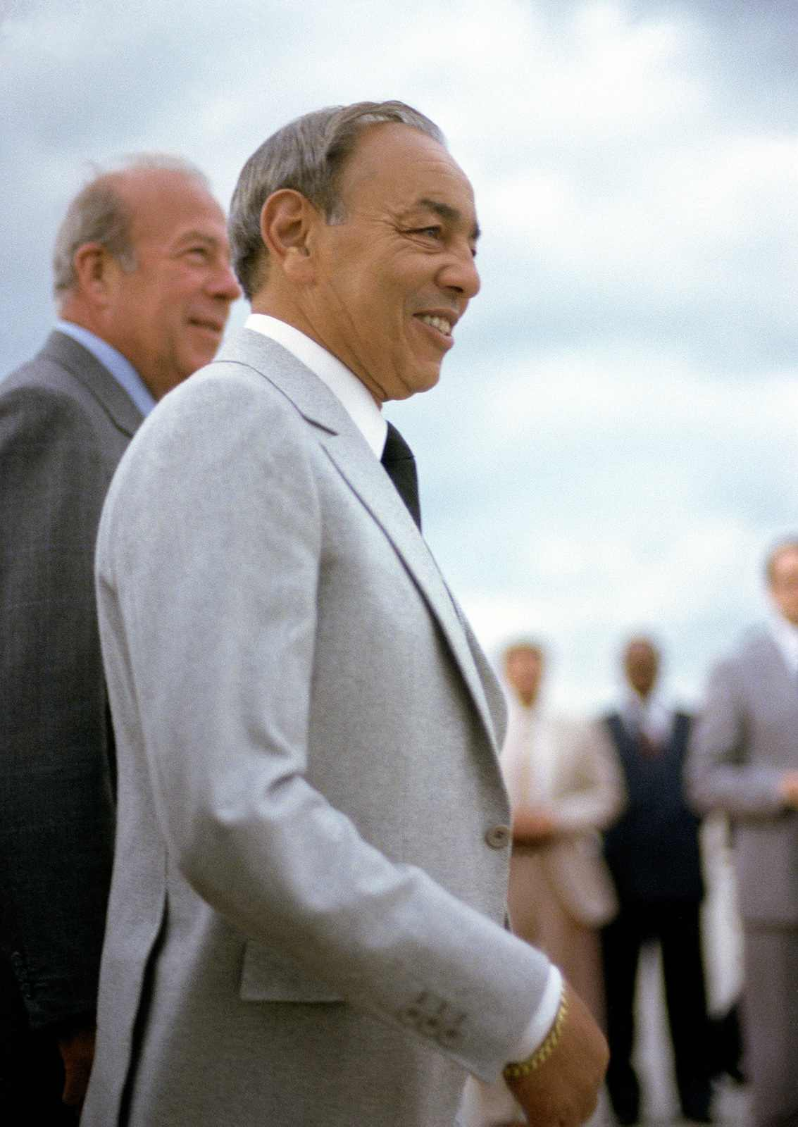 Le roi du Maroc Hassan 2